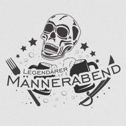 """Spruchserviette """"Männerabend"""""""