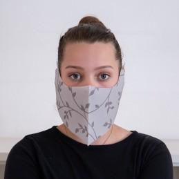 Behelfs- Mund- und Nasenmaske / Alltagsmaske Hanprotec WBF-1 (Einweg), Fino Toskana