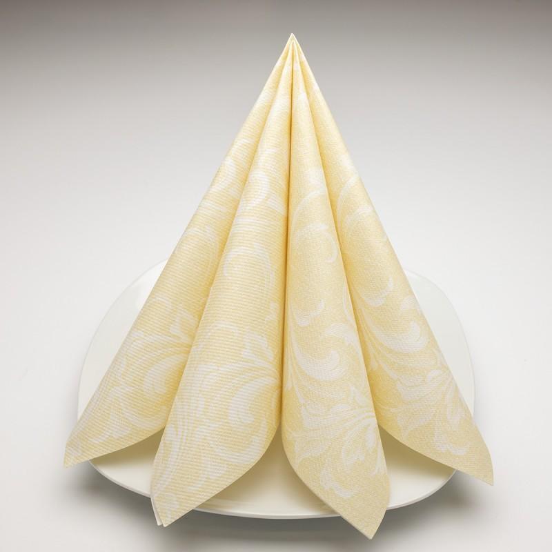 Airlaid Hantessa Serviette 40 x 40 cm, Windsor creme
