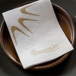 Hantessa Drink Airlaid-Serviette, 18 x 24 cm (1/4 Falz), mit Ihrem Werbedruck