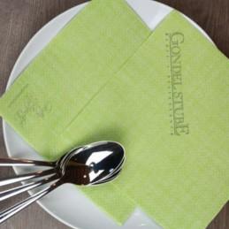 Hantessa Lunch Airlaid-Serviette, 33 x 33 cm (1/4 Falz), mit Ihrem Werbedruck