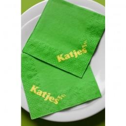 Hantiss Tissue-Serviette (2-lagig) 24 x 24 cm (1/4 Falz), mit Ihrem Werbedruck