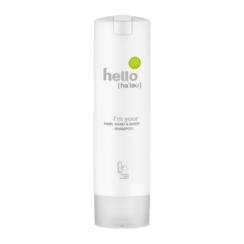 HELLO Hair, Hand & Body Shampoo rund