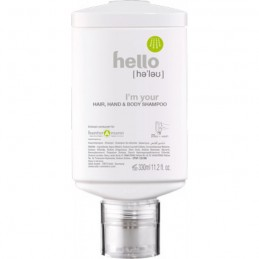 HELLO Hair, Hand & Body Shampoo oval