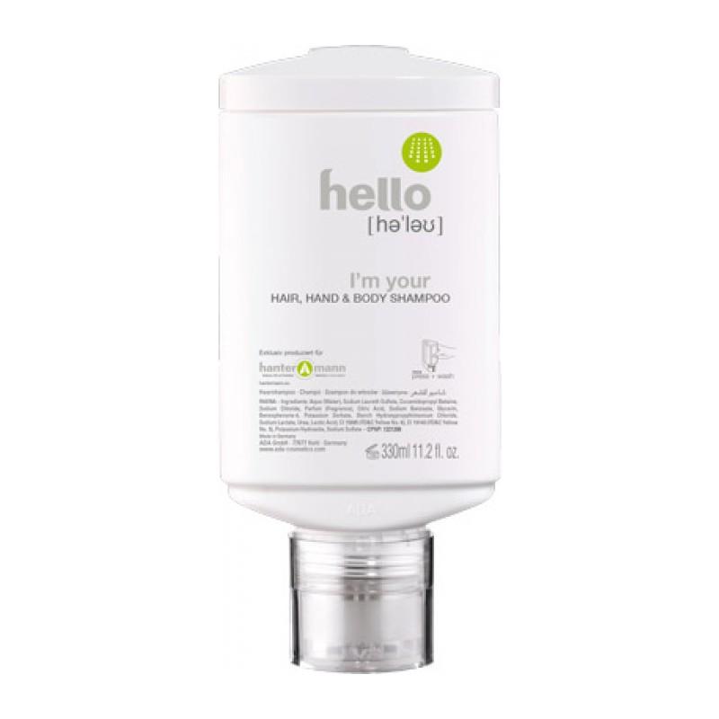HELLO Hair, Hand & Body Shampoo oval