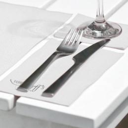 BIO-Hantura-Serviette Leg'Hin, 24 x 40 cm (1/8 Falz), mit Ihrem Werbedruck