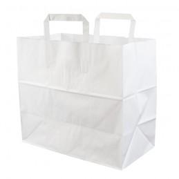 Bio Papiertragetasche weiß...