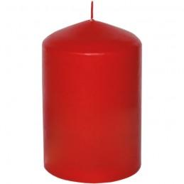Stumpen Kerzen kaminrot, Ø 6,8cm, H 13,5cm