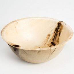 Palmblatt Schale rund 15 x 7 cm, 350 ml