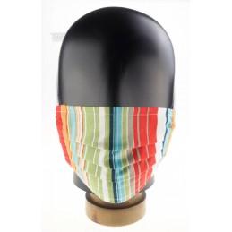 Kinder-, Community-Maske / Mund- und Nasenmaske, Streifen, WASCHBAR und WIEDERVERWENDBAR