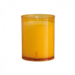 Kerzen Brenneinsätze orange