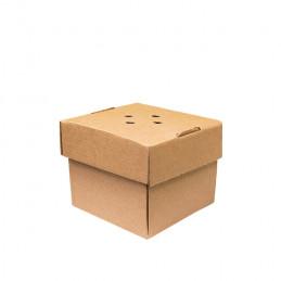 Bio Burger-Faltbox Karton...