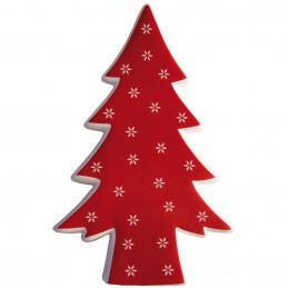 Baum Fea, 22 cm, rot