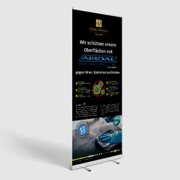 AIRDAL® Info-Roll-Up 85 x...