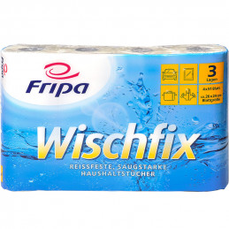 Fripa-Haushaltsrollen Wischfix, 3-lagig