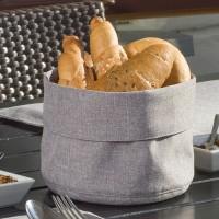 Brotkörbe und Tischwäsche aus Stoff