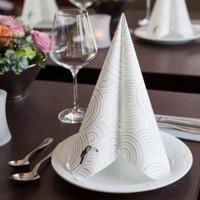 Servietten im Flexodruck ab 5.000 Stück für Gastronomie, Hotellerie, Industrie etc.