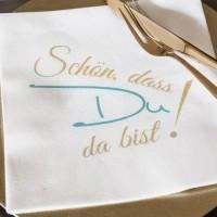 Servietten mit Sprüchen | für jeden Anlass | hantermann.eu